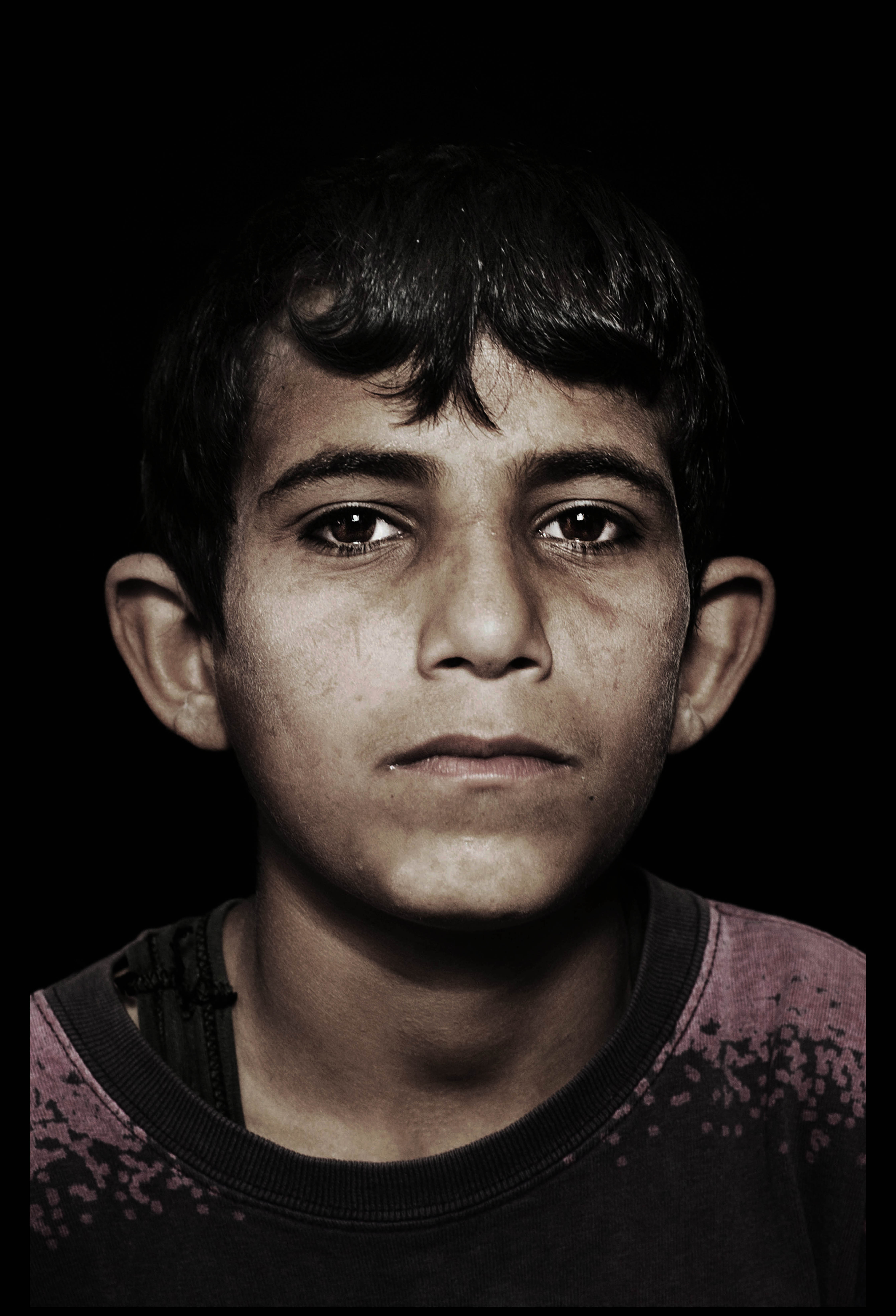 children living on occupied palestinian territory