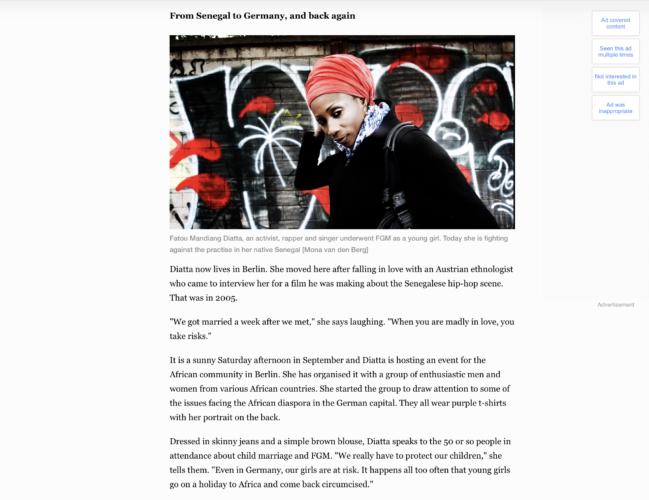 Al Jazeera - Rapper Sister Fa 3