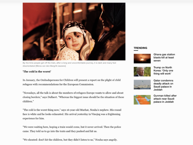 Al Jazeera - refugees Macedonia 5