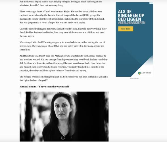 Al Jazeera - refugees Serbia 2