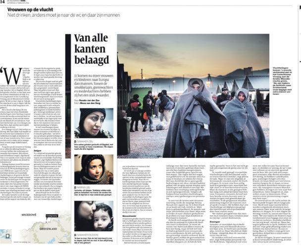 publicatie Volkskrant