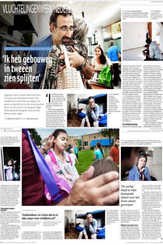 publicatiereportage vluchtelingenwerkmagazine