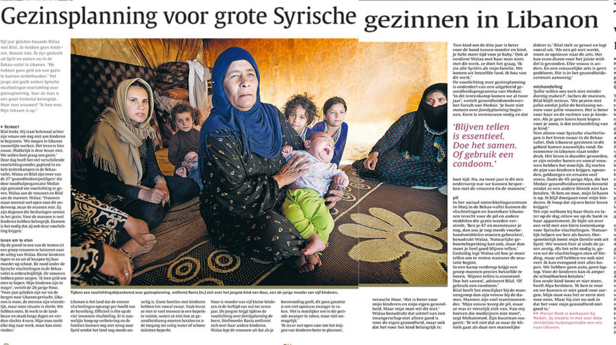 publictatie noord hollands dagblad Mona
