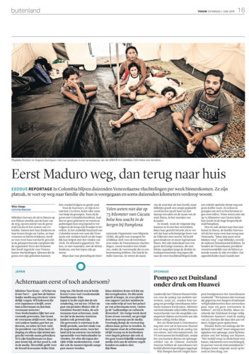 Publication Newspaper Trouw - Mona van den Berg-2019