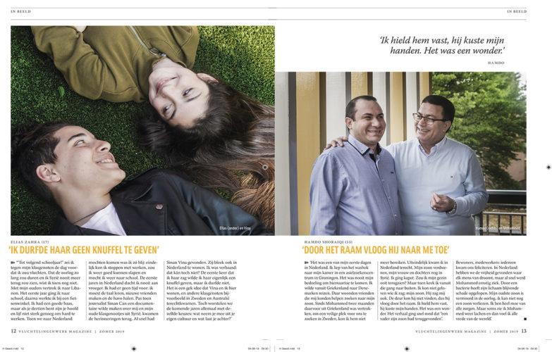 in beeld vluchtelingenwerk magazine 2