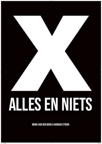 Poster X_Alles en NietsDIAP1024_1
